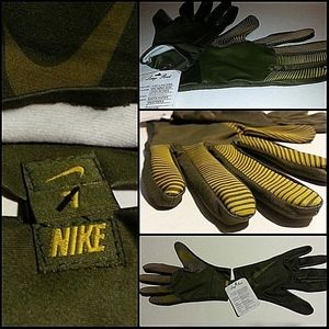 RARE NIKE Gloves LONG ROOT Designer Sample NWT LTD
